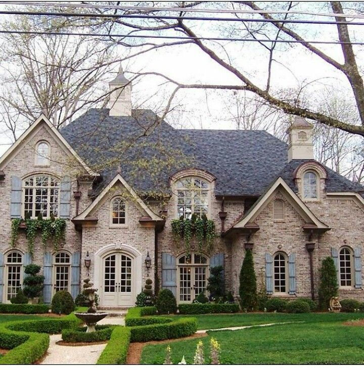 french country exterior ideas photo - 8