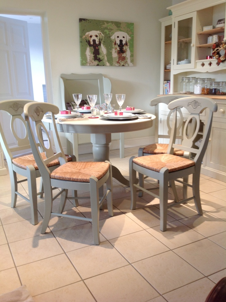 french country kitchen chairs photo - 9