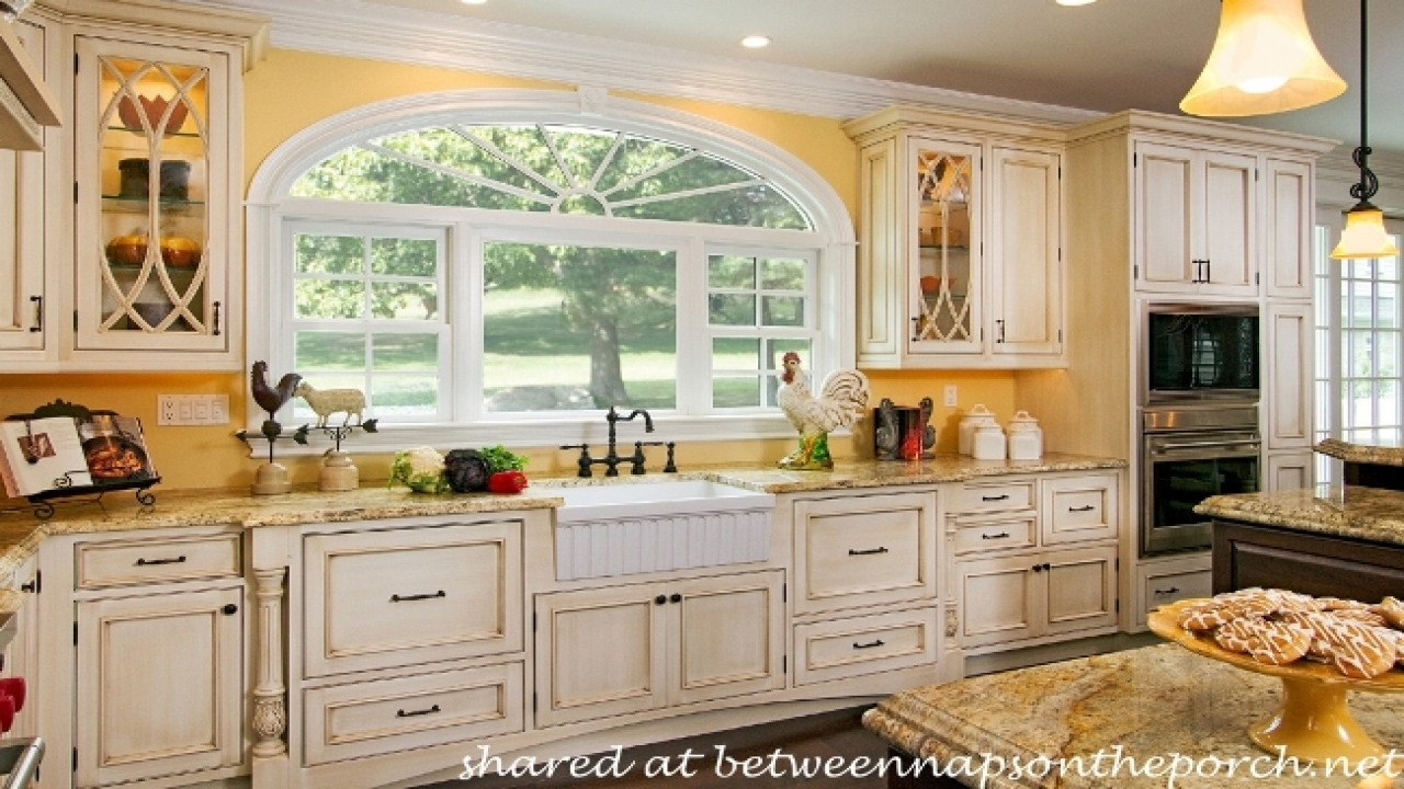 french country kitchen colors photo - 3