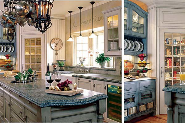 french country kitchen colors photo - 7