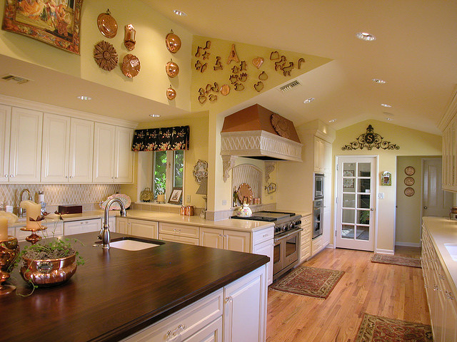 french country kitchen colors photo - 8