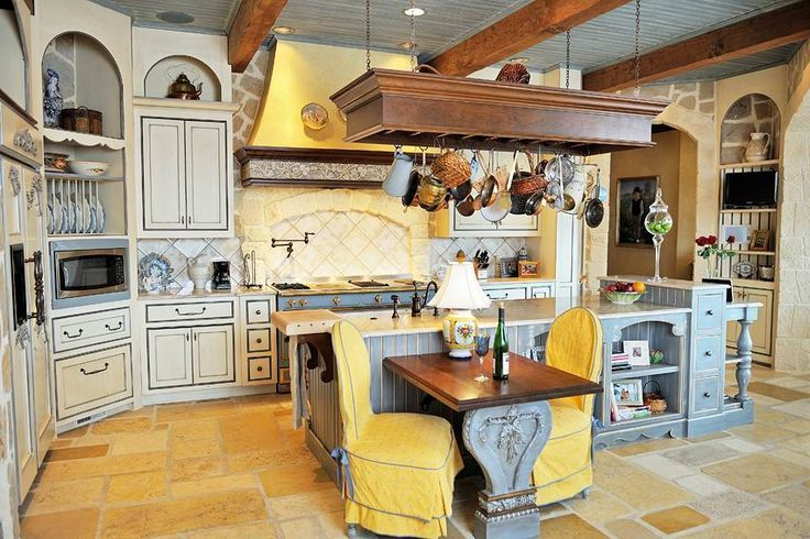 french country kitchen colors photo - 9