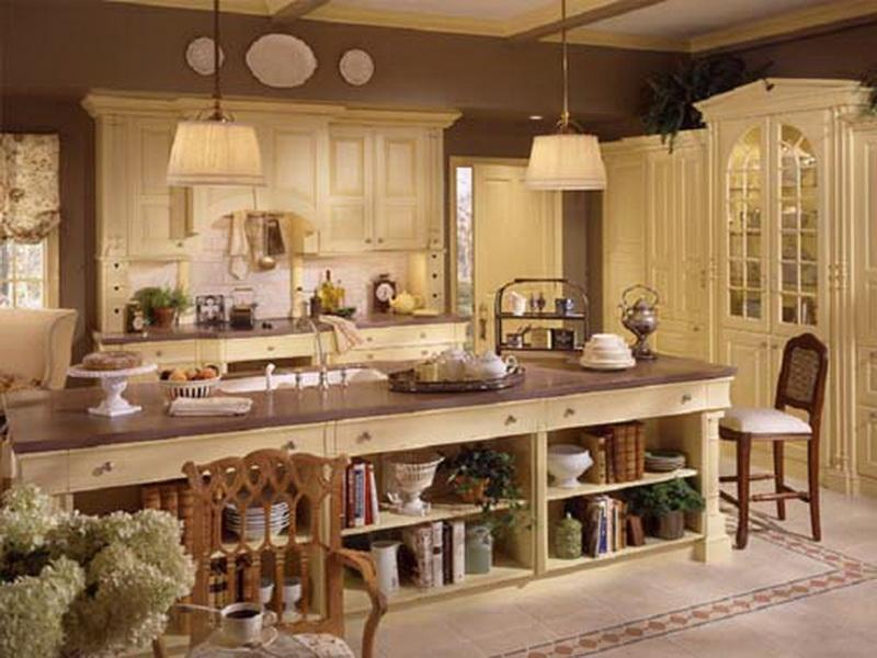french country kitchen decorating ideas photo - 1