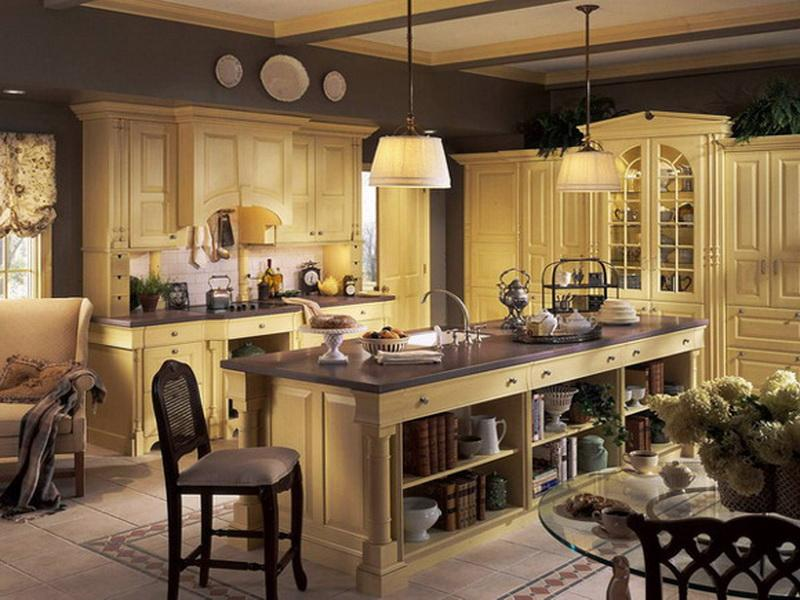 french country kitchen decorating ideas photo - 3