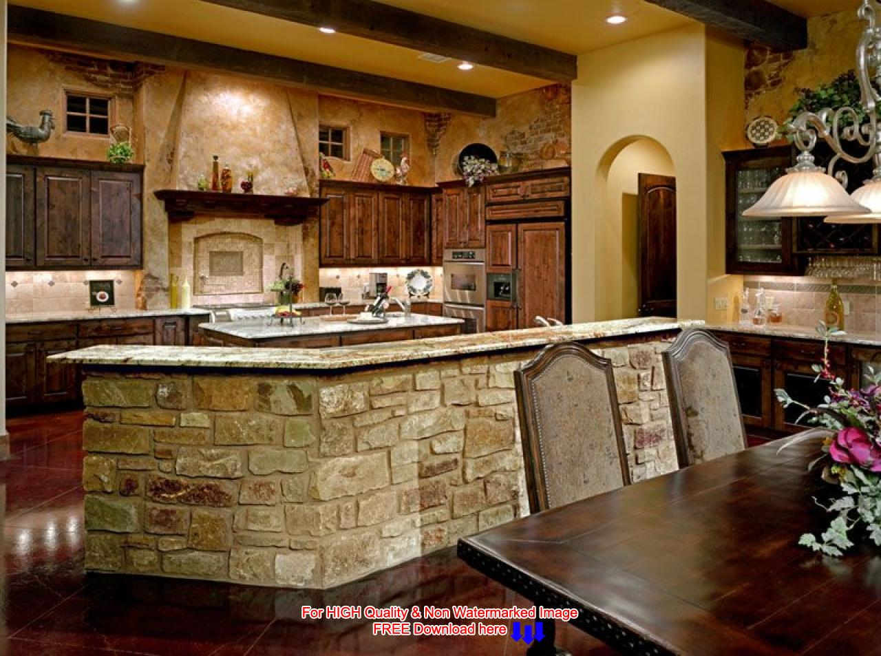 french country kitchen decorating ideas photo - 8