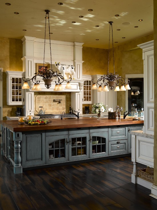 french country kitchen design pictures photo - 10