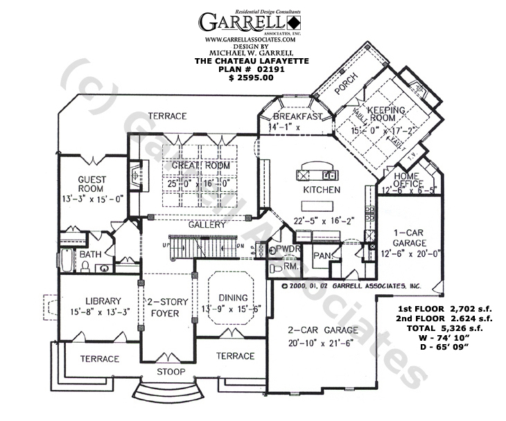 french country kitchen floor plans photo - 2