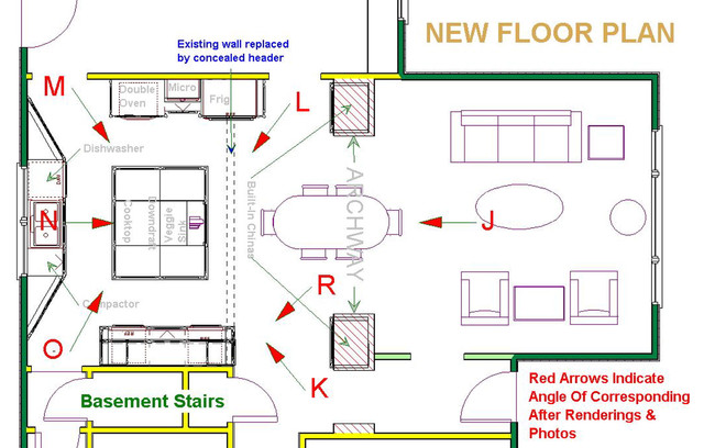 french country kitchen floor plans photo - 3
