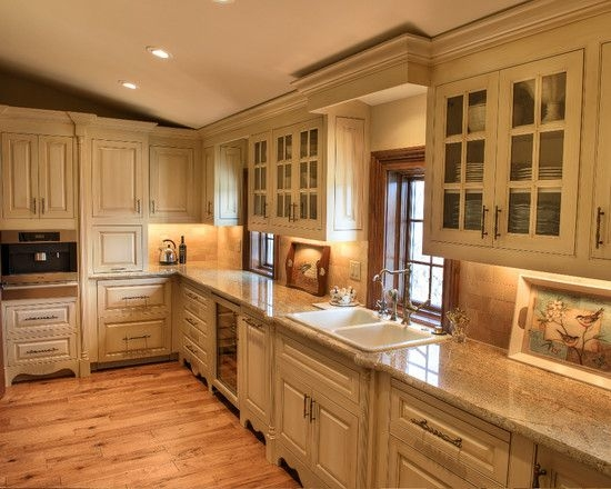 french country kitchen floor plans photo - 8