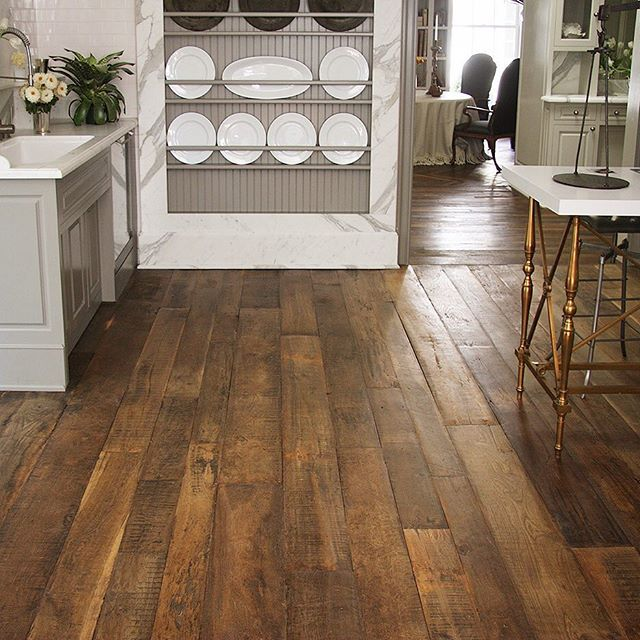 french country kitchen flooring photo - 10
