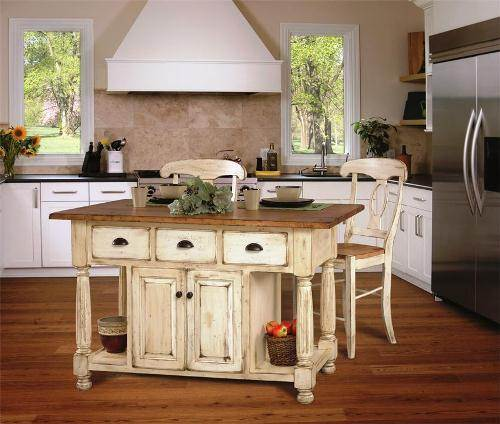 french country kitchen furniture photo - 1