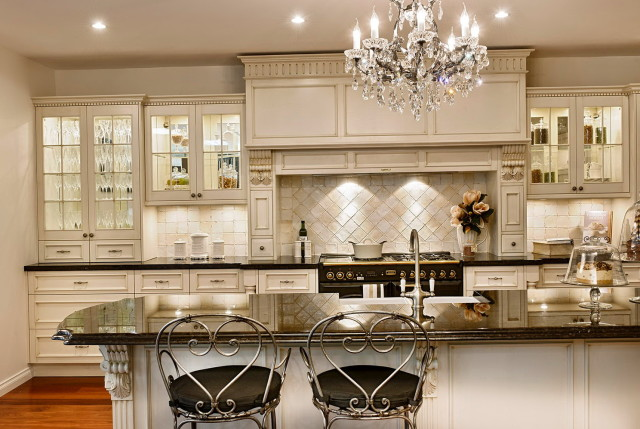 french country kitchen furniture photo - 7
