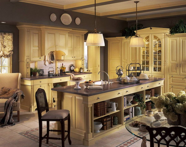 french country kitchen furniture photo - 9