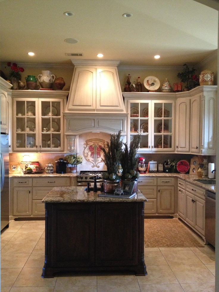 french country kitchen home photo - 6