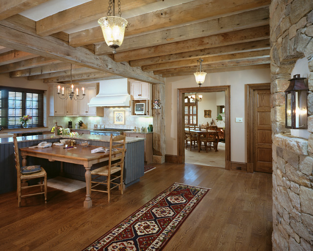 french country kitchen home photo - 7