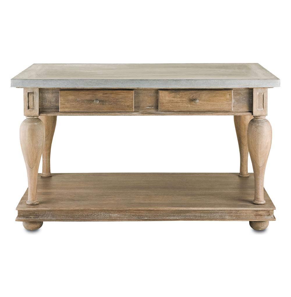 french country kitchen island table photo - 3