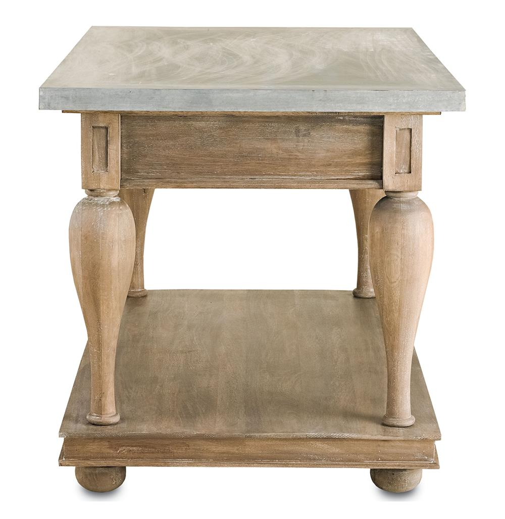 french country kitchen island table photo - 8