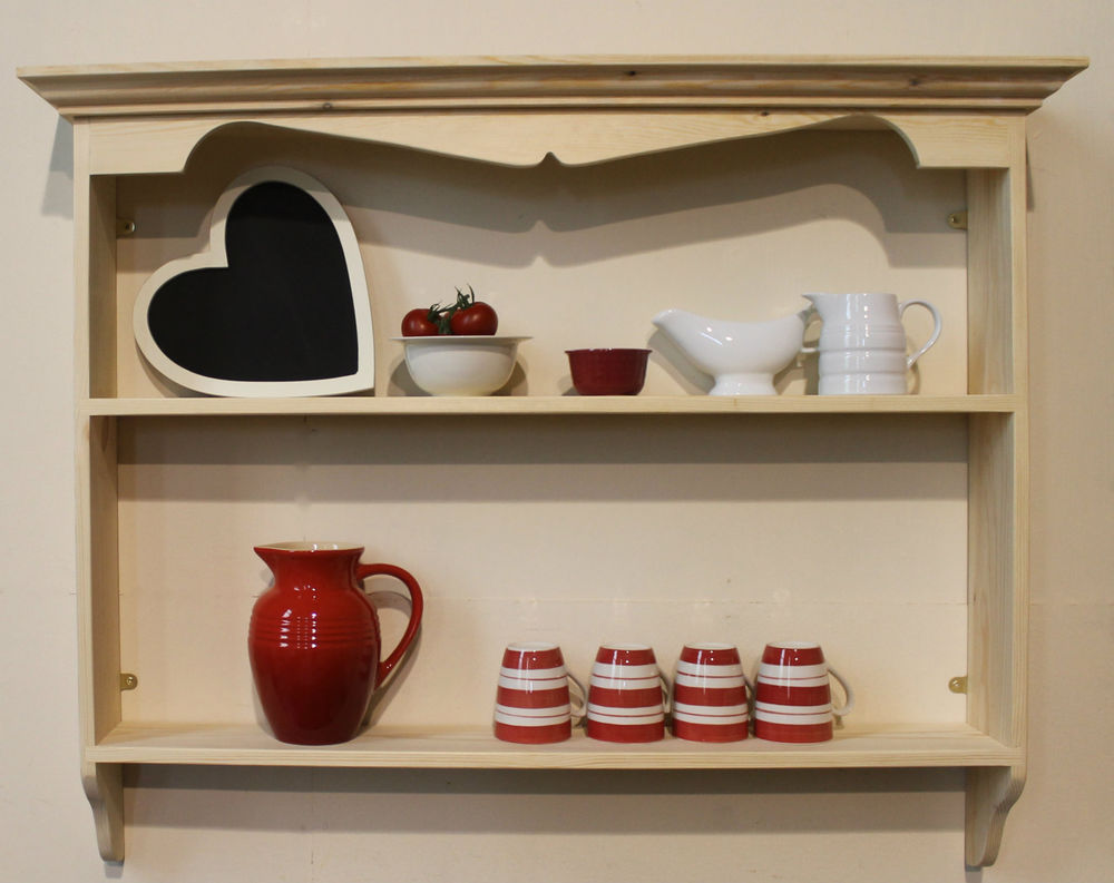 french country kitchen shelf photo - 9