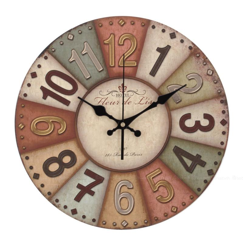 french country kitchen wall clocks photo - 7