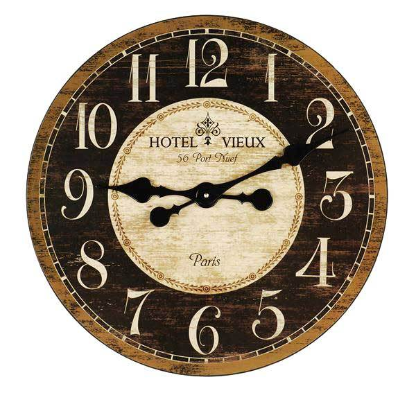 french country kitchen wall clocks photo - 9