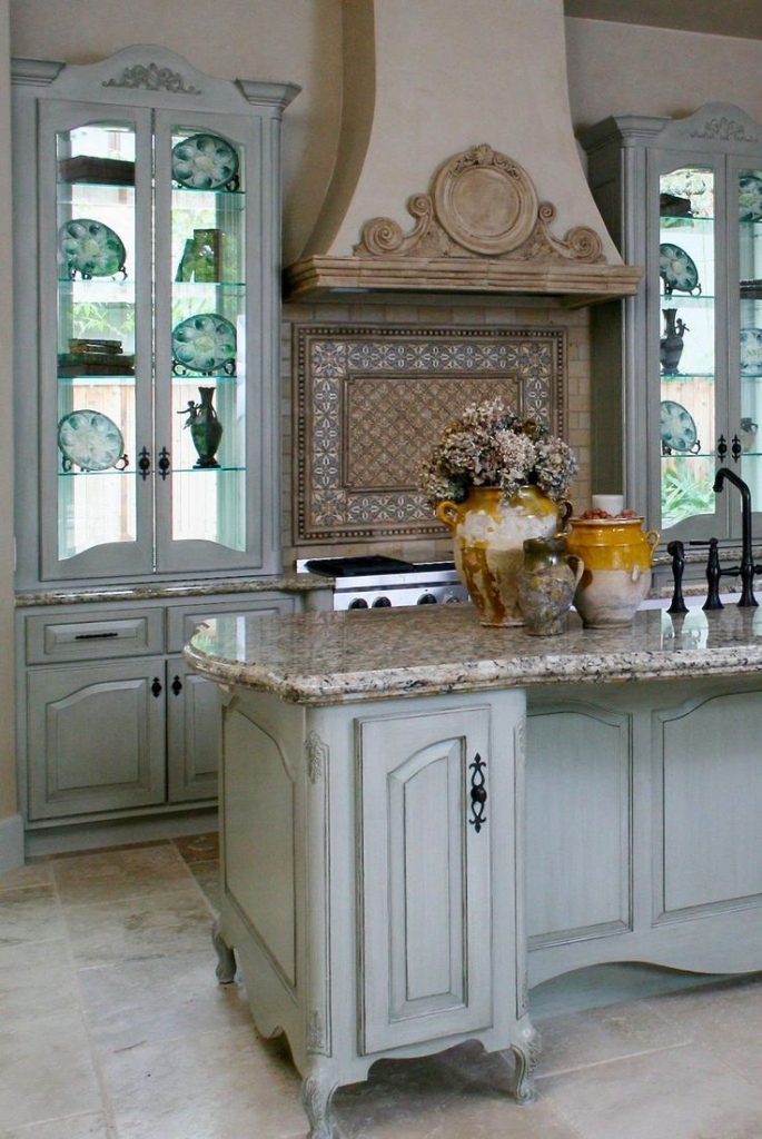 french country kitchen wall decor photo - 8