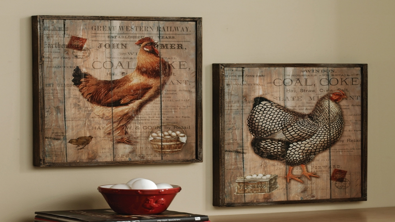 french country kitchen wall decor photo - 9