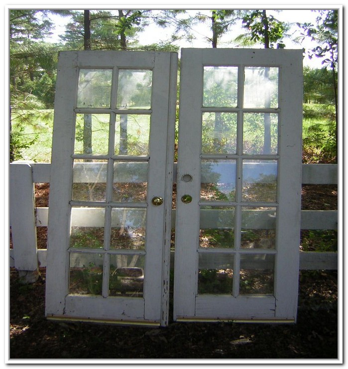 french doors exterior used photo - 1
