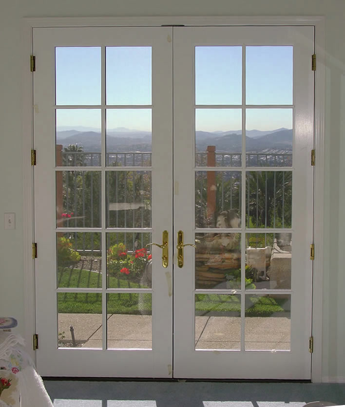 french doors exterior used photo - 5