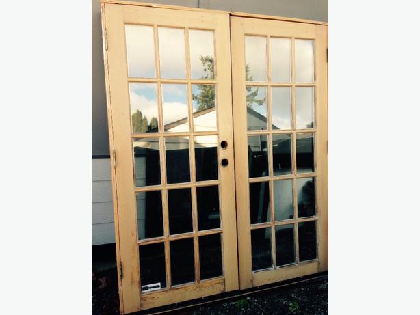 french doors exterior used photo - 7