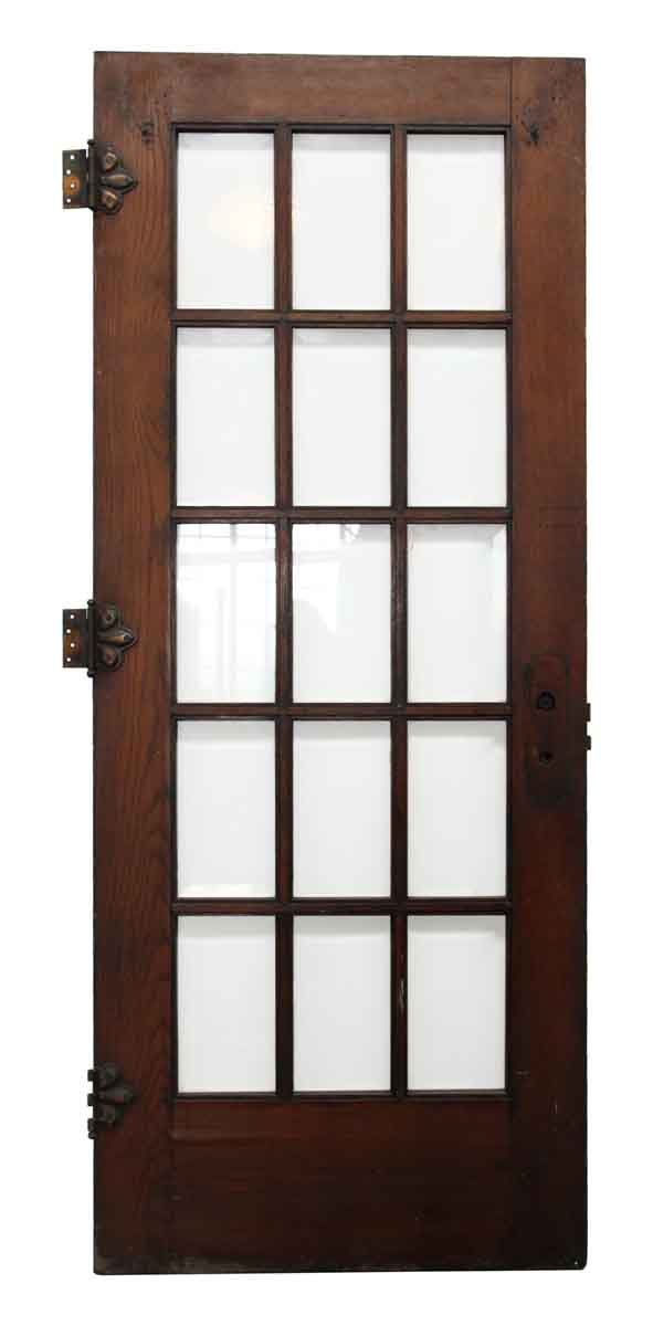 french doors interior beveled glass photo - 8