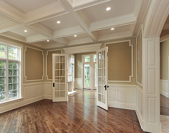 french doors interior design photo - 1