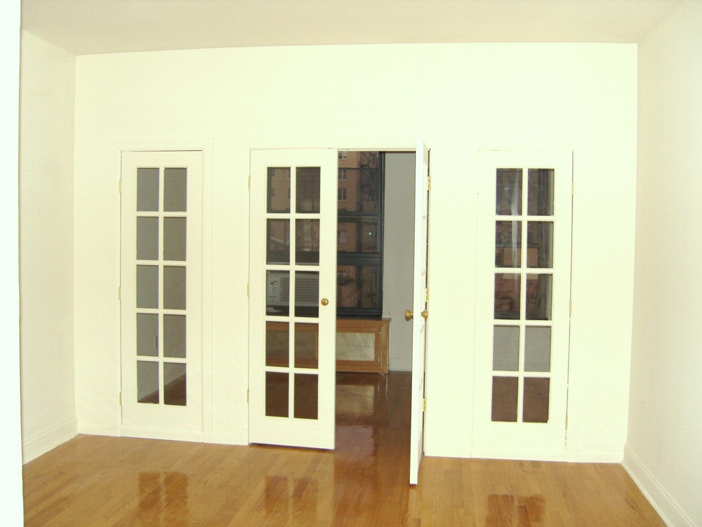 french doors interior design photo - 2