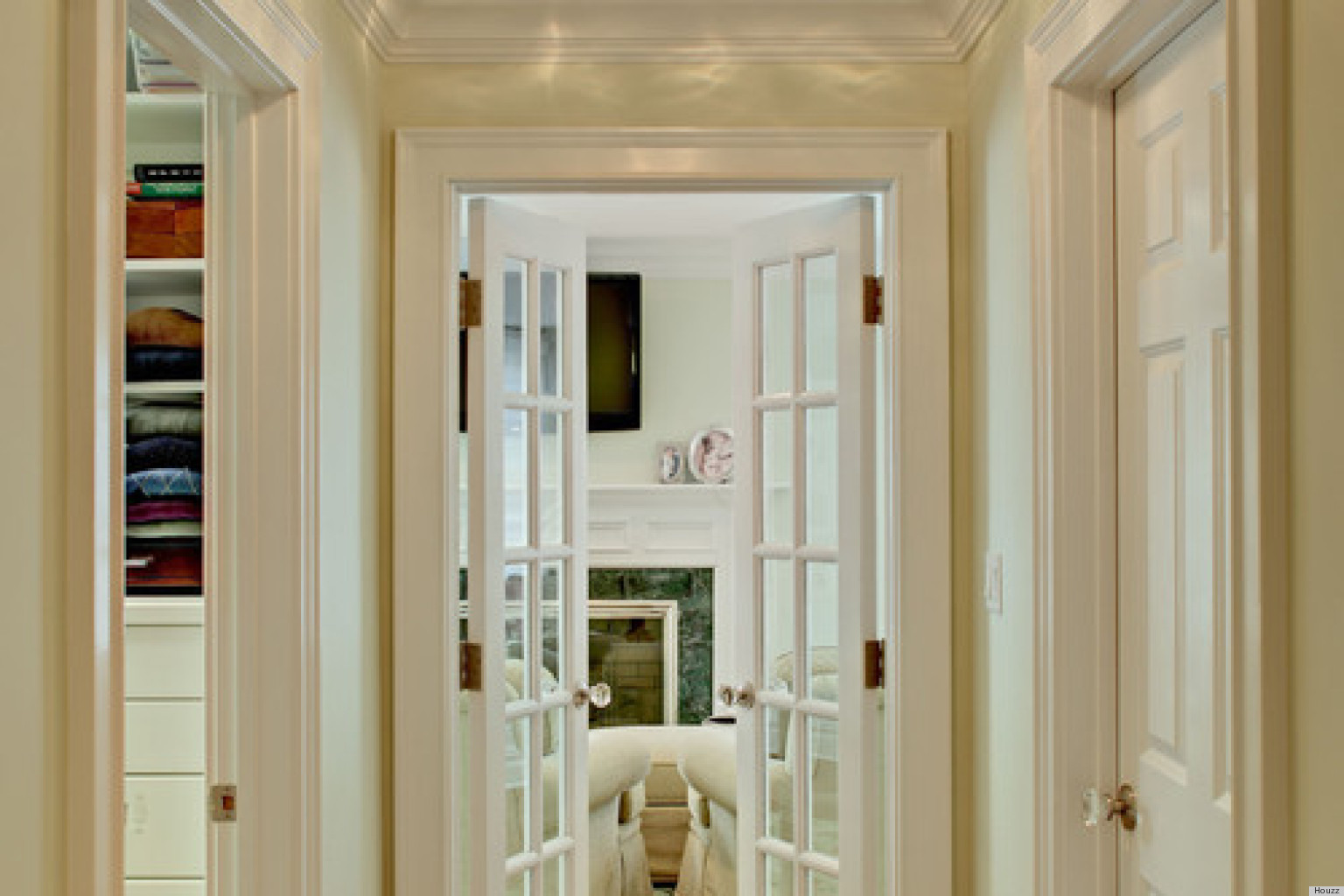 french doors interior design photo - 3
