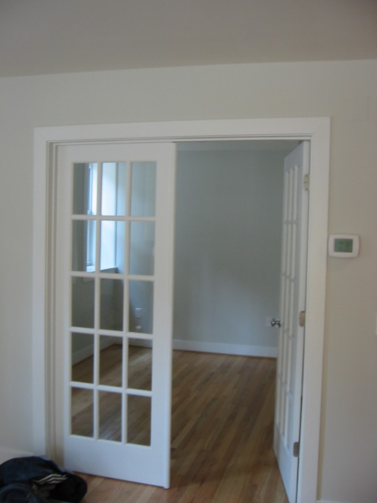 french doors interior design photo - 4