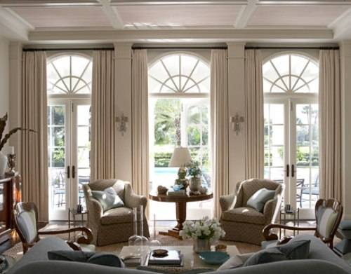 french doors interior design photo - 6