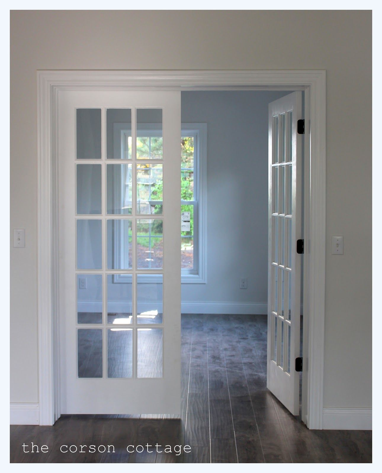 french doors interior design photo - 9