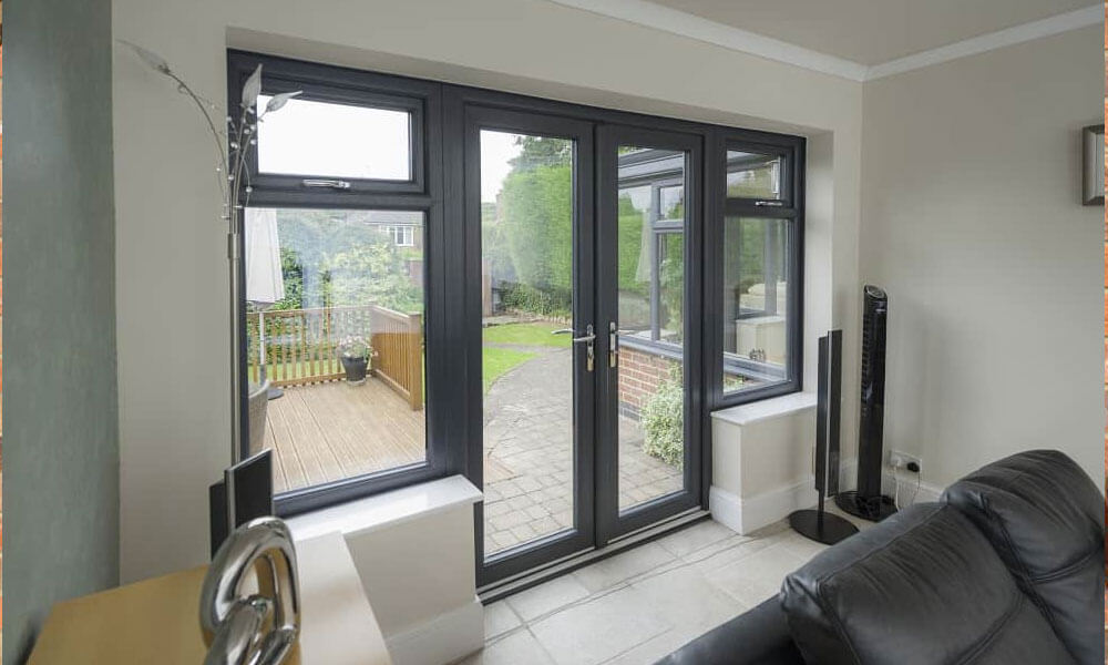 french doors interior double photo - 3