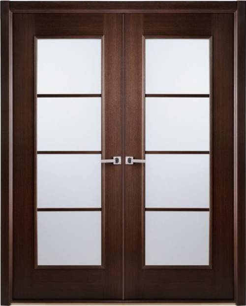 french doors interior frosted glass photo - 3