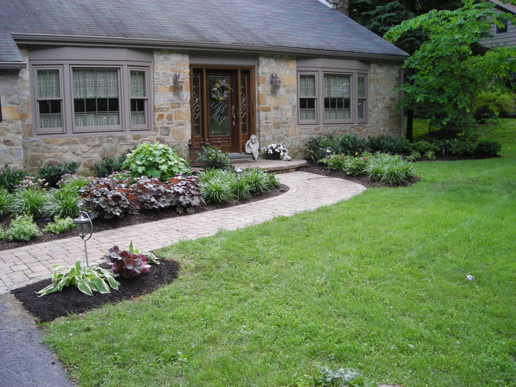 front garden entrance ideas photo - 3