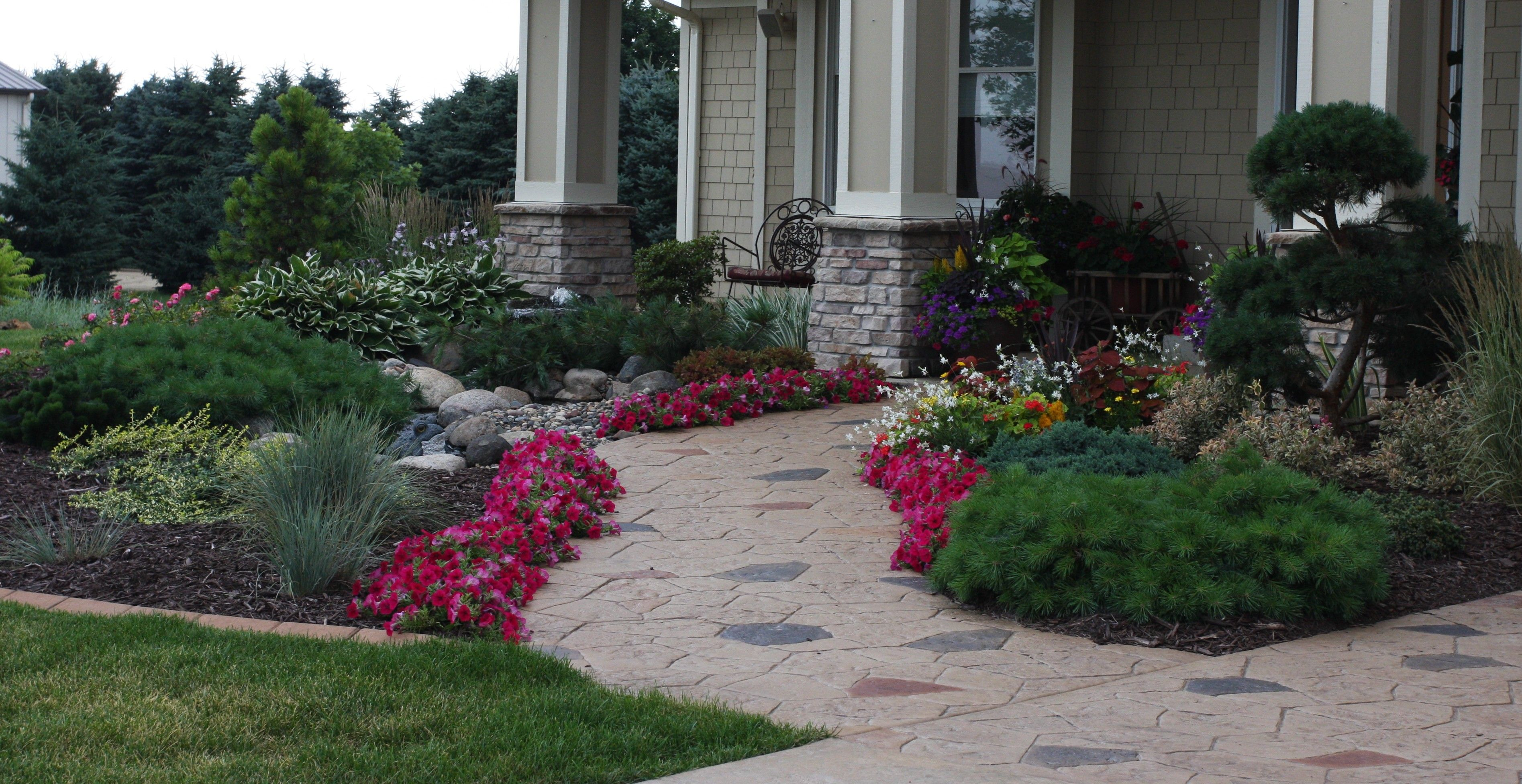 front garden entrance ideas photo - 5