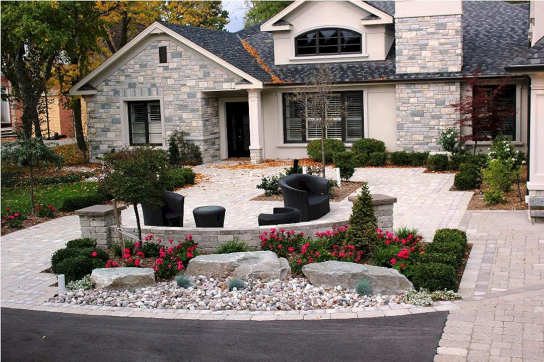 front garden entrance ideas photo - 7