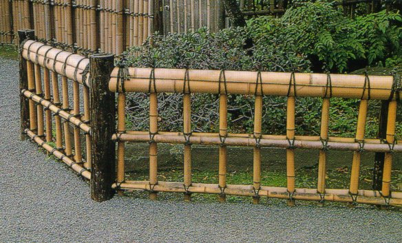 garden bamboo fencing ideas photo - 6