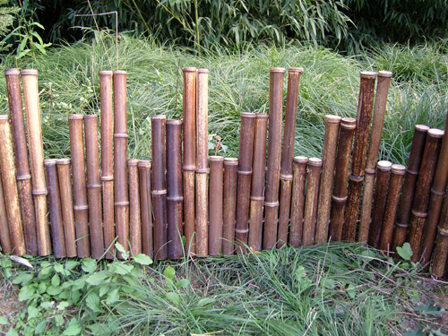 garden bamboo fencing ideas photo - 7