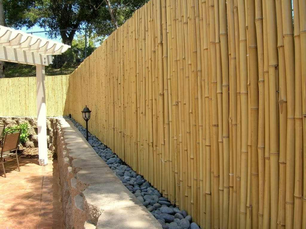 garden bamboo fencing ideas photo - 8