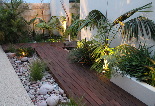 garden design and ideas tropical photo - 5