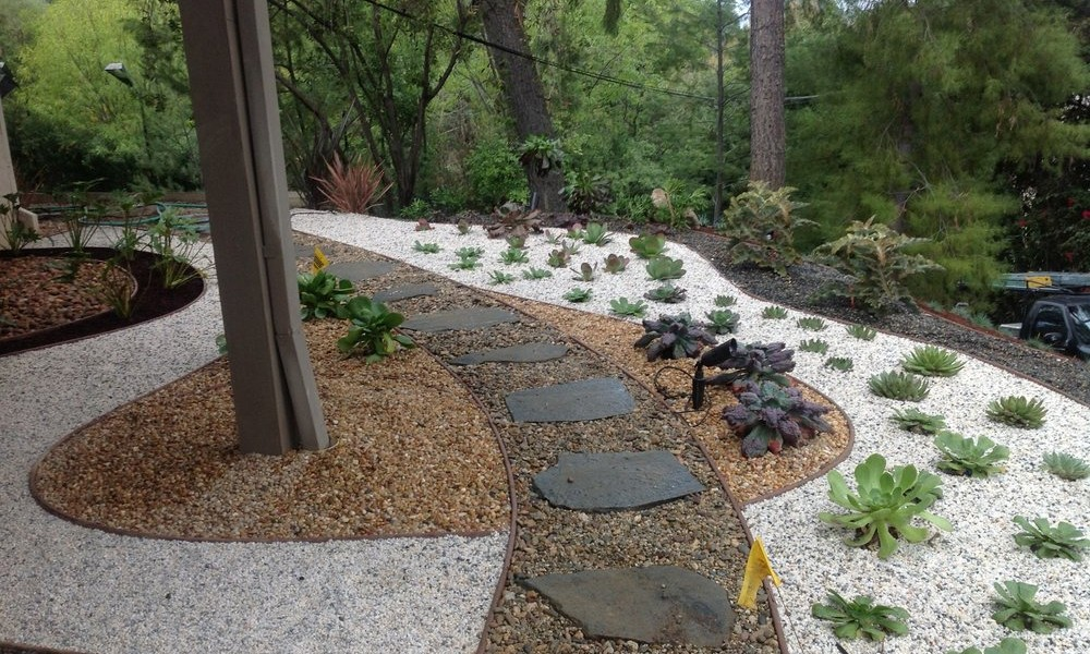 garden design gravel ideas photo - 1