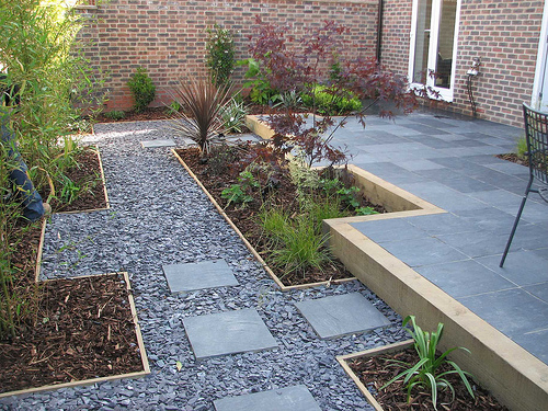 garden design gravel ideas photo - 4