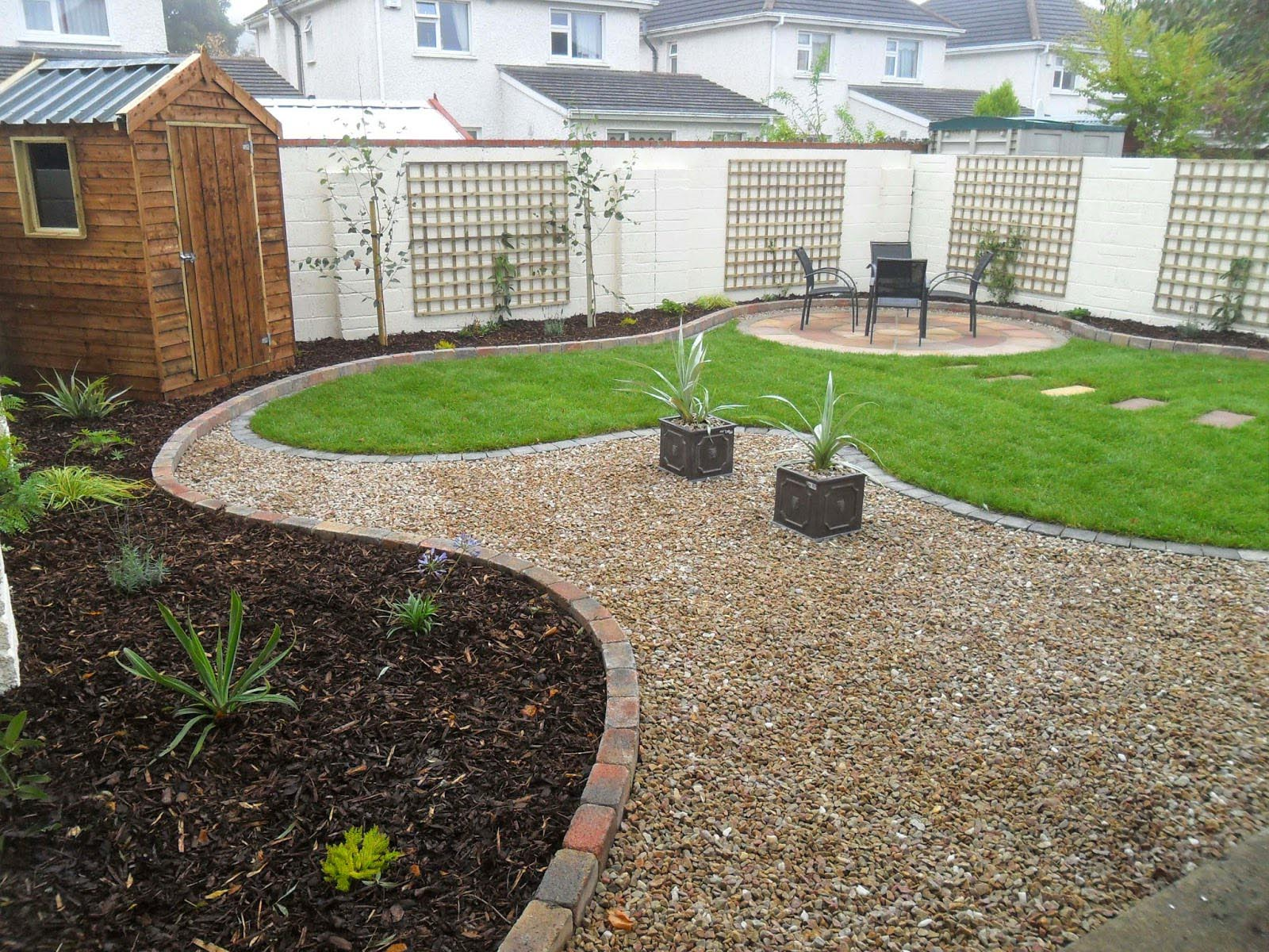 garden design gravel ideas photo - 6