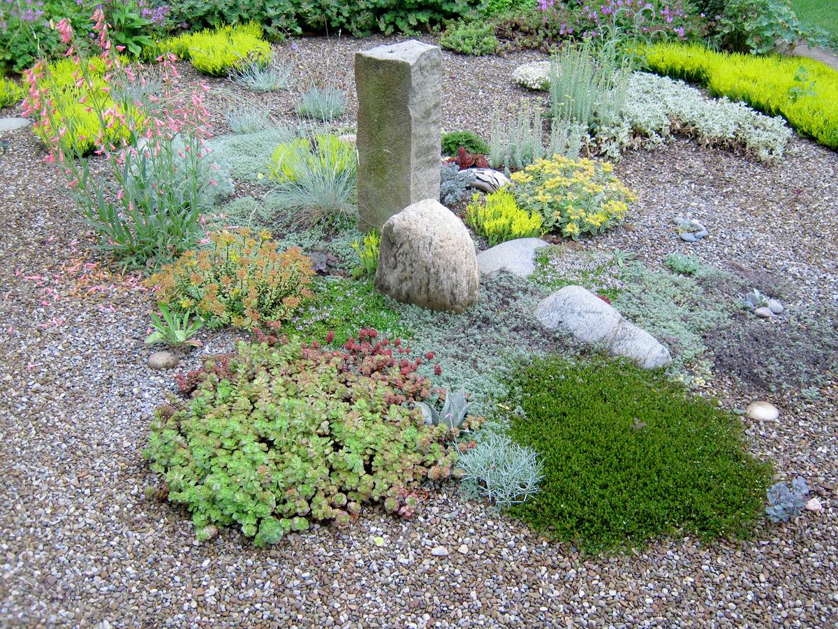 garden design gravel ideas photo - 7