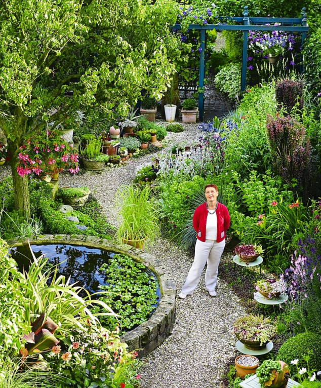 garden design ideas for long thin gardens photo - 4